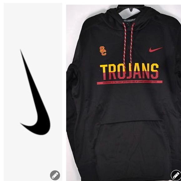 NWT Nike USC Trojans Black Hoodie d73d8678f